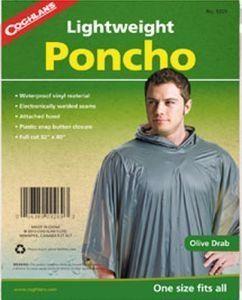 Coghlans Poncho wasserdicht olive