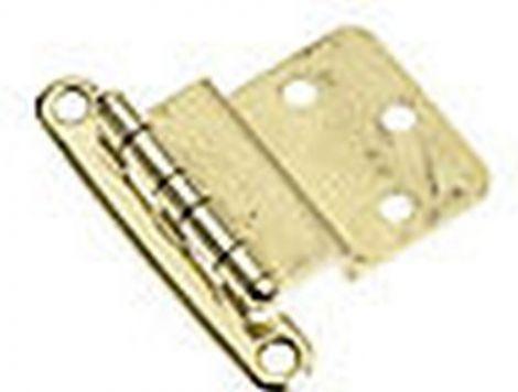 Messing Beschlag 57 x 38 mm Scharnier