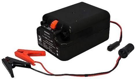 Elektrische Luftpumpe für 12 Volt Batterie-Anschluss mit geringem Stromverbrauch
