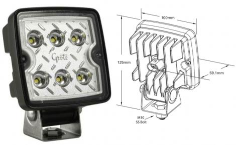 Philippi LTQ 1200 WF LED-Außenscheinwerfer 1200 Lumen
