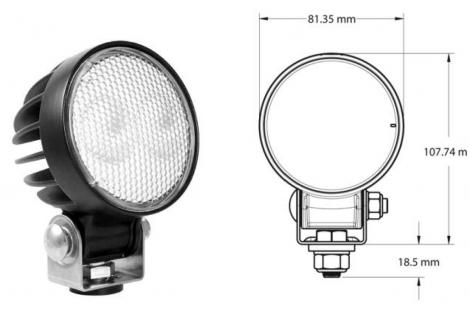 Philippi LTR 26 WF LED-Außenscheinwerfer 1790 Lumen