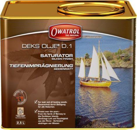 Owatrol DEKS OLJE D1 - 2,5 Liter