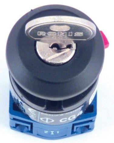 Philippi CG 4 A 200 Schlüsselschalter 0-1 10A