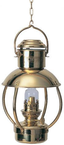 Trawler Messinglampe