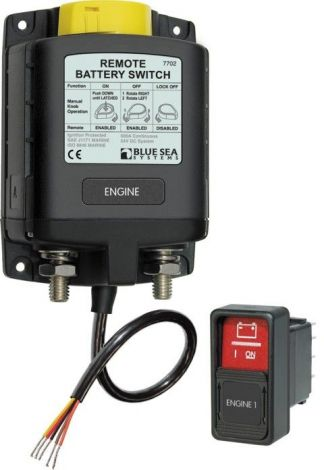 Philippi FBR 500-12 Hauptschalterrelais mit manueller Betätigung 500A 12V