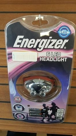 Energizer Kopflampe Advanced Headlight mit 6 LED