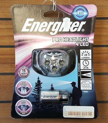Energizer Headlight Kopflampe mit 3 LEDs