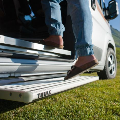 Thule Trittstufe Single Step V15 electric 12 Volt 550 Alu