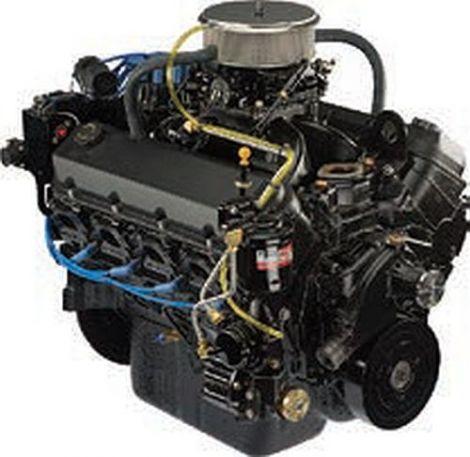 Longblock 540 CRATE ENG BRV 8M0113304 Mercury Mercruiser Ersatzteil