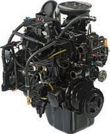 Longblock 3.0L TKS 110 HP Crate Engine 8M0123360 Mercury Marine