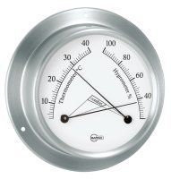 BARIGO Sky Thermometer - Hygrometer Edelstahl