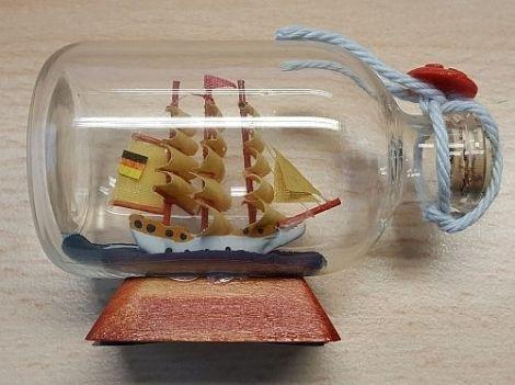 Buddelschiffe Flaschenschiffe mini Segelschiffe