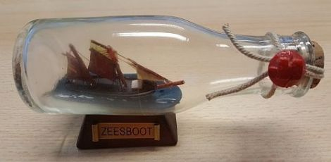 Buddelschiffe Flaschenschiff Zeesboot 100ml