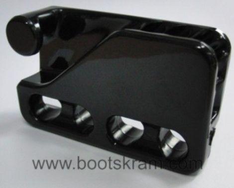Clamcleat Big Loop Klemme schwarz Nylon 6-12mm