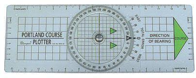 Navigationslineal Kursplotter