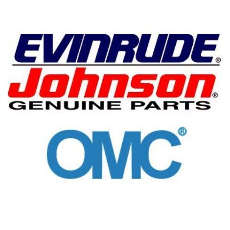 GASKET,WTR CVR @5 329920 OMC, Johnson und Evinrude Ersatzteil