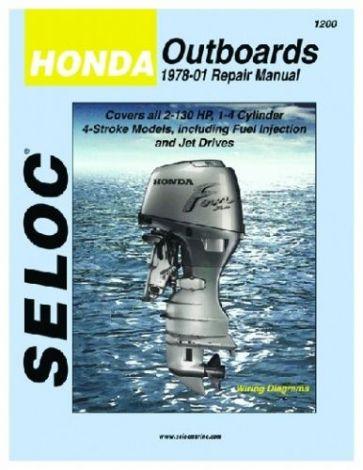 Werkstattbuch Honda Outboards 2-130 PS Sierra 18-01200