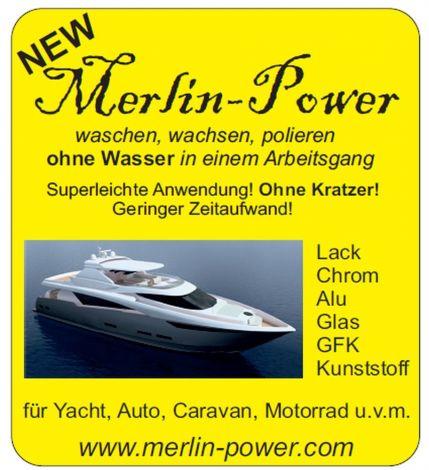 Merlin-Power - waschen, wachsen, polieren ohne Wasser