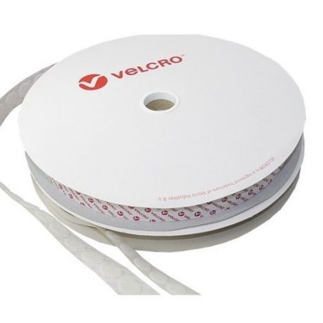 Velcoin Flausch 15 mm 1 Rolle weiss 1300 Stück