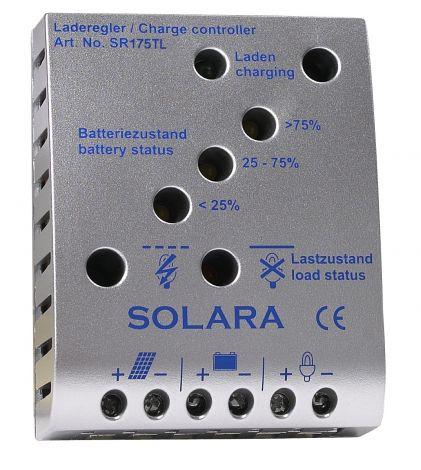 Solara Laderegler SR175TL, max. 10 A, max. 175 W