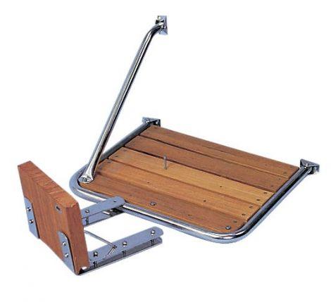 Außenborderhalterung für Boots- und Badeplattformen
