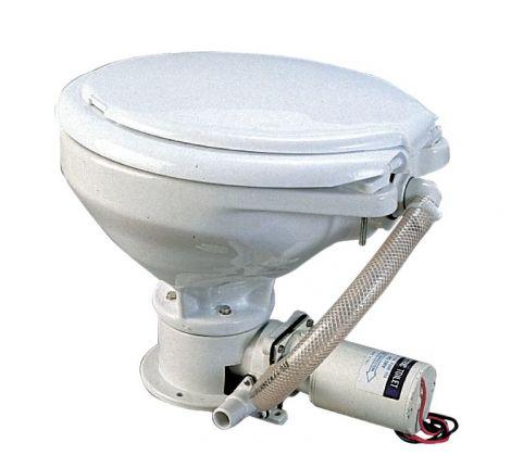 Toilette mit elektr. Pumpe