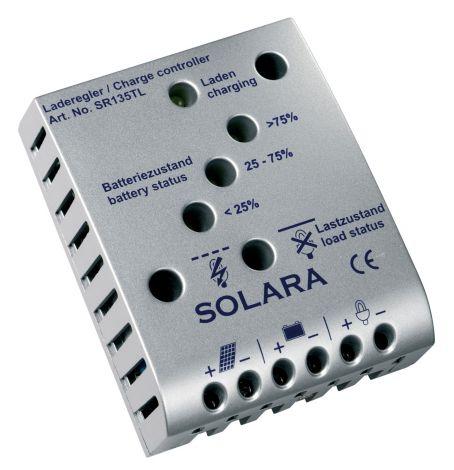 Solara Laderegler SR135TL, max. 8 A, max. 135 W